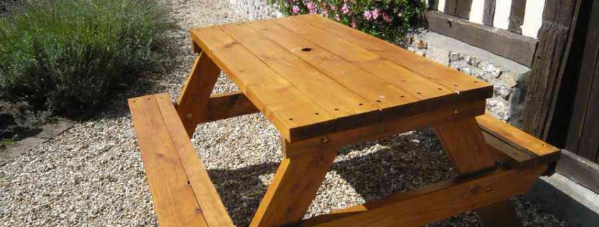 Table forestiere en Douglas