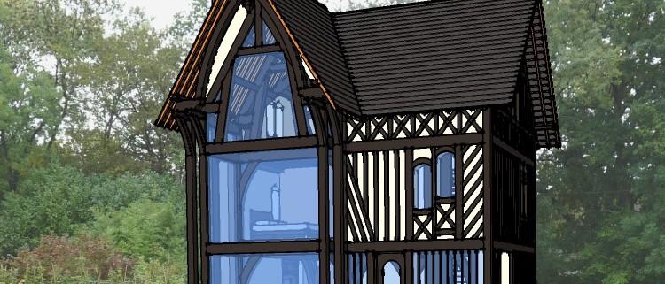 Projet d'un maison bioclimatique Normande